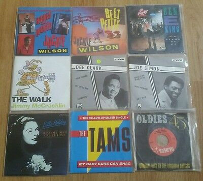 """JOB LOT OF 27 * NORTHERN * 60s * SOUL * 7"""" VINYL * VG-VG+ * TAMS, DELL'S & MORE"""