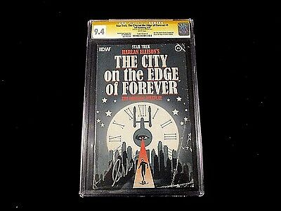 Star Trek: City on the Edge of Forever #1 - CGC 9.4 - Signed By Shatner!