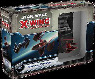 Star Wars X-Wing Miniatures Game Imperial Veterans Expansion - Fantasy Flight