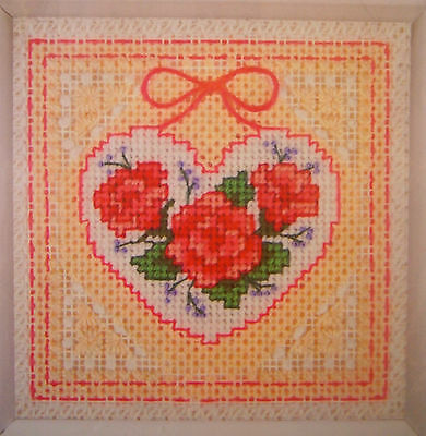"Dimensions ""Roses in Lace"" Needlepoint Kit NEW Craft Tapestry"