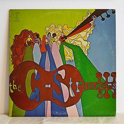 THE G STRINGERS Rare PRIVATE US FEMALE FOLK/PSYCH LP 1969 'White Rabbit' etc