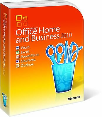 [BRAND NEW] Microsoft Office Home and Business 2010 (FULL RETAIL VERSION)
