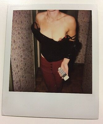 PHOTO ANCIENNE - VINTAGE SNAPSHOT - Breast - Sexy woman - Polaroïd - Nude