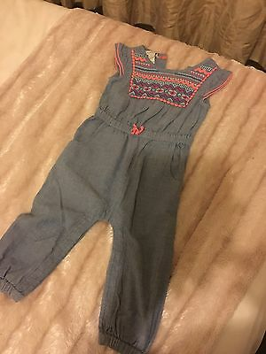 Monsoon baby Girl Playsuit Age 12-18 Months