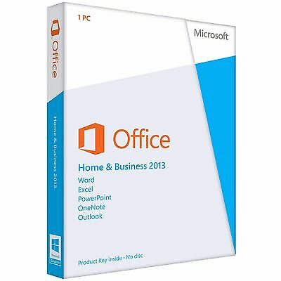 [BRAND NEW] Microsoft Office Home and Business 2013 (FULL RETAIL VERSION)