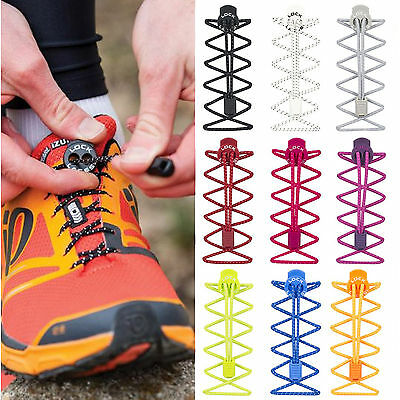 Nathan Lock Laces Running Jogging Cycling Triathlon Elastic Shoelace Fastening