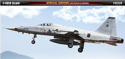 Academy 1/48 R.O.K AIR FORCE KF-5E Special Edition Aircraft Plastic Model Kit