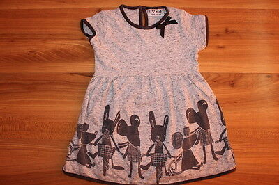 NEXT girls grey MOUSE dress 12-18 months *I'll combine postage