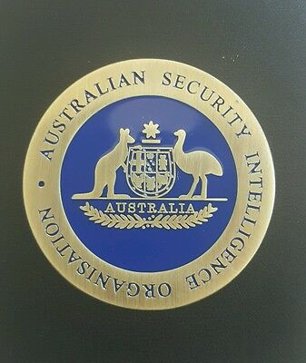 Australian Security Intelligence Organisation coin/medal. (Not badge) Federal