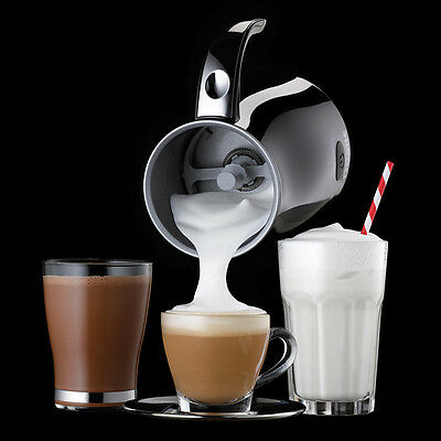 Dualit Milk Frother in Black HOT OR COLD FROTH SPECIAL OFFER