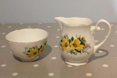 Royal Grafton  China Milk Jug and Shugar Bowl