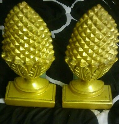Borghese Pineapple Bookends