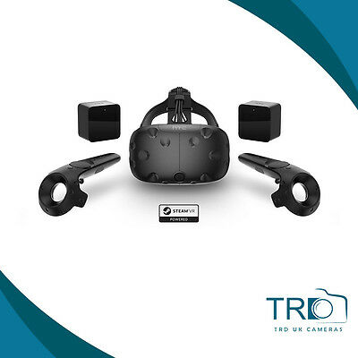 HTC Vive - VR Virtual Reality Headset Black- New Sealed