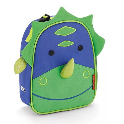 NEW Skip Hop Zoo Lunchie Dinosaur Insulated Lunch Bag for Children Ages 3+