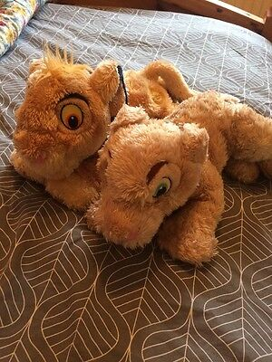 Simba And Narla Lion King Disney Store Toy