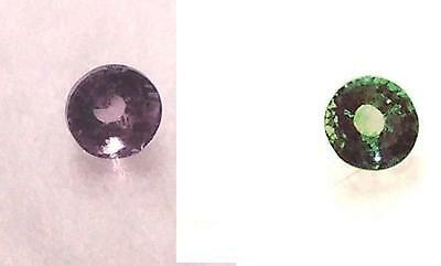 Ultra Rare Russian Alexandrite Natural ,  90% Color Change, Untreated, Unheated