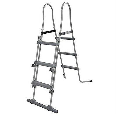 42 Inch Pool Ladder Coated Steel Swimming Pool Ladder Brand New Pool Accessory