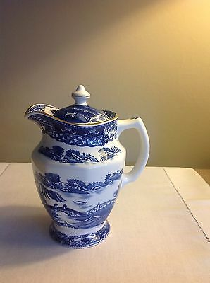 Ringtons Blue and White Coffee/Tea Pot