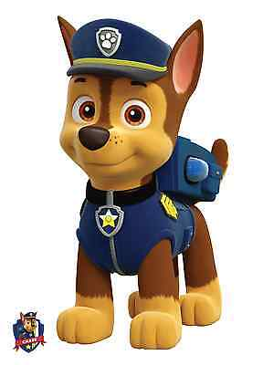 Unofficial PAW PATROL - CHASE *Glossy A4* print Poster - disney mickey cartoon