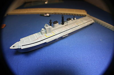 HMS Ark Royal Carrier RO7 Boxed R Navy. Triang Minic Ships great detail.