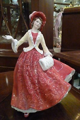 Royal Doulton Figurine 'Christmas Day 1999', HN4214, Modelled by Mada M Pedley