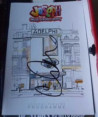 Lee Mead Signed Joseph And The Amazing Technicolor Dreamcoat Theatre Programme