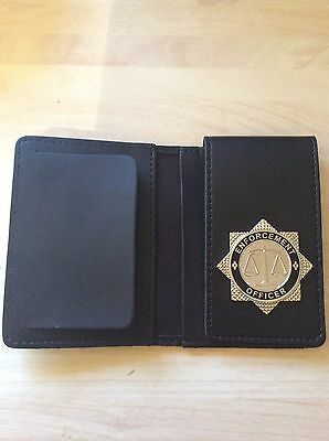 Warrant Card Wallet / ID Card Holder with Enforcement Officer Badge