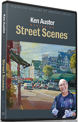 Ken Auster: Mastering Street Scenes  - Art Instruction DVD