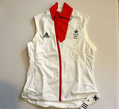 Team GB Training Vest Sochi 2014 Olympic Gilet ATHLETE ISSUE Pro BNWT L / UK 18