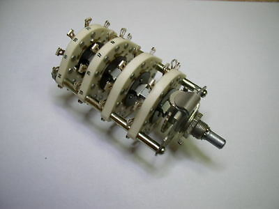 Ceramic Rotary Switch 2 pole 21 positions. NOS. Lot of 1
