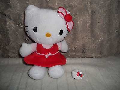 Hello Kitty Bundle Hello Kitty SoftToy and Hello Kitty Ring