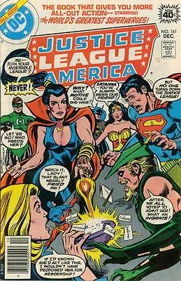 JUSTICE LEAGUE OF AMERICA 161 1st SERIES DC AMERICAN COMIC