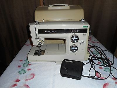 Vintage Kenmore Joyce Sewing Machine   With Case