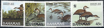 Bahamas - 1988 SG 824-7 Birds Black-billed Whistling Duck Set.UM/NH.