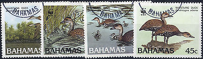 Bahamas - 1988 SG 824-7 Birds Black-billed Whistling Duck Set.FU.