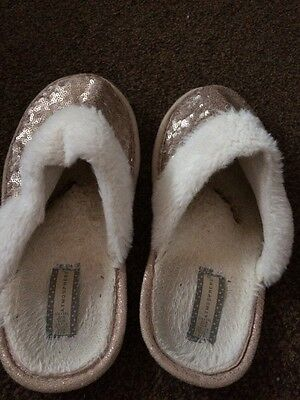 Ladies Well Worn Slippers Size 5