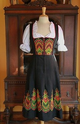German Dirndl Dress Womans