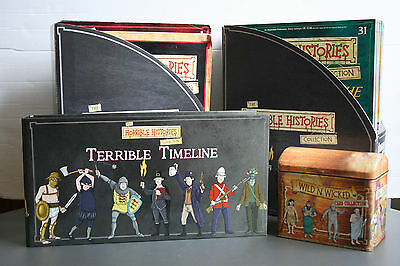 The Horrible Histories Magazine Collection #1-60 (inc Timelines and Cards)