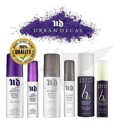 Urban Decay All nighter makeup setting spray,oil-control,vitamin b6 118ml, 30ml