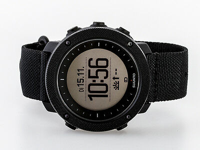 Suunto Traverse SS022469000 Alpha Stealth Military Uhr Modell