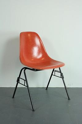 All Original Eames Dss Side Chair Herman Miller Stacking Base Midcentury #1925