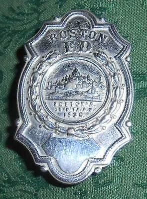 Vintage Boston Fire Department Badge