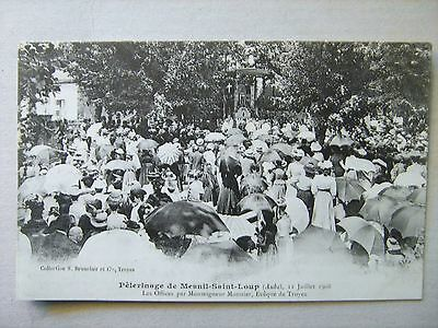 Cpa   Mesnil St Loup   Pelerinage Religieux 1908       10  Aube