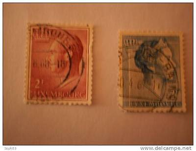 Luxembourg Timbres Obliteres
