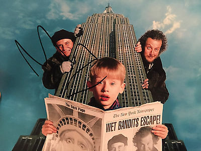 Macaulay Culkin Signed 10X8 Photo Home Alone In Person