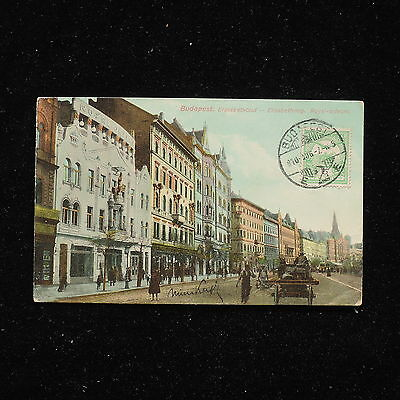 ZS-AA953 HUNGARY - Postcard, From Budapest To Milan Italy