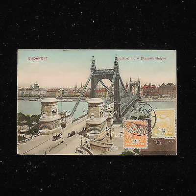 ZS-AA954 HUNGARY - Postcard, From Budapest To Milan Italy