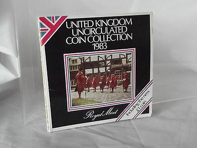 1983 United Kingdom Uncirculated Coin Collection 1983