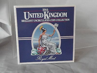 Royal Mint 1984 United Kingdom Brilliant Uncirculated Coin Collection Set