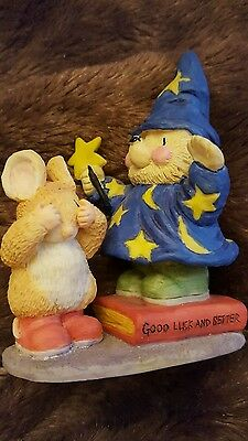 Gordon Fraser Country Companions Ed the Wizard Hedgehog Figurine